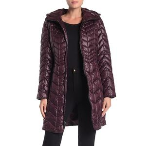 NWT!🥰 Kenneth Cole Hooded Puffer Coat